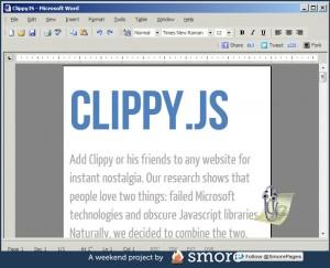 ClippyJS