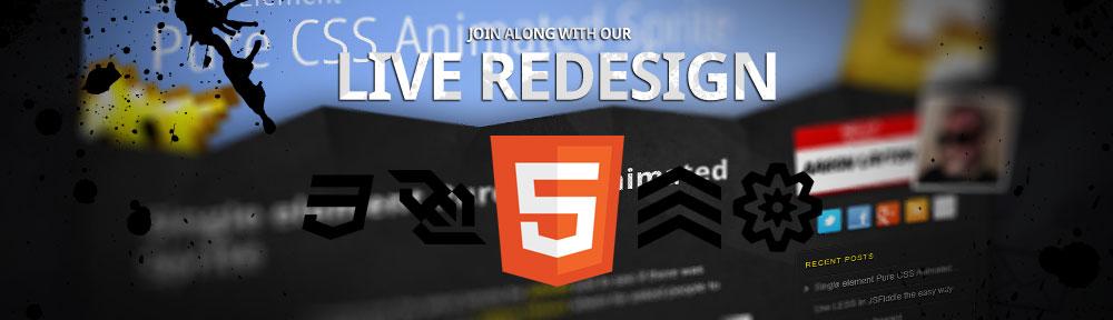 Live Site Re-design